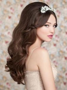 Dlouhé husté vlasy